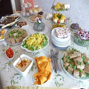 Wide Variety Of Food Products In Catering Services